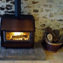 Houtkachel plaatsen, verwarming met hout