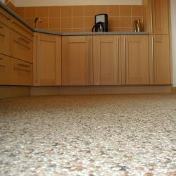 Natuursteentapijt : gegoten vloer